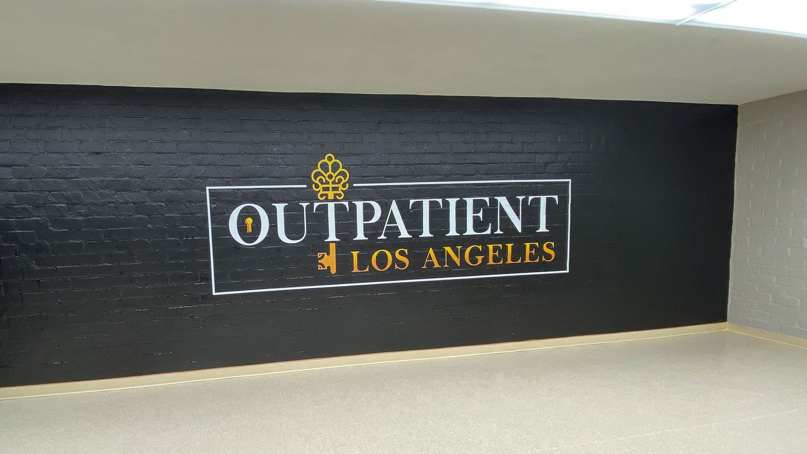 Outpatient wall decal