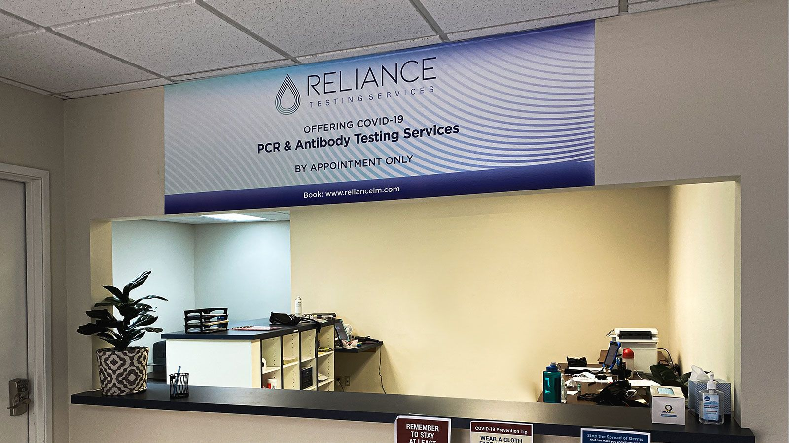 Reliance wall decal
