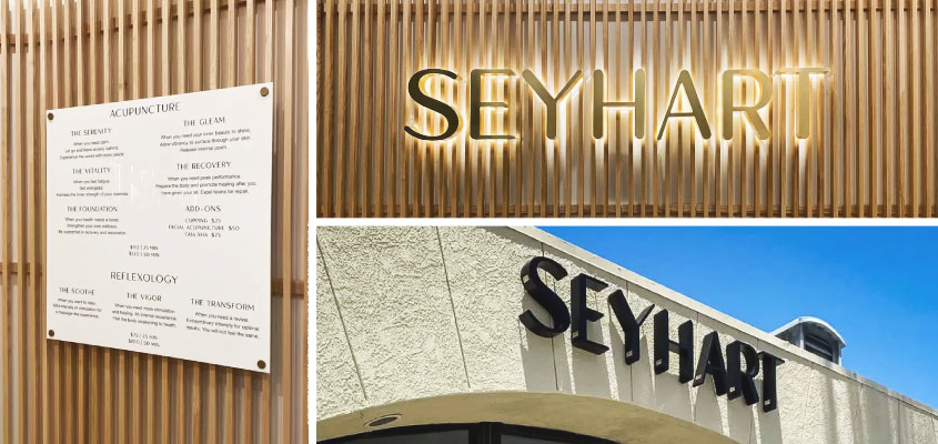 Image Showing Seyhart Signage Project Solutions