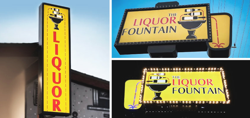 Image Showing The-Liquor-Fountain Brand Design Project