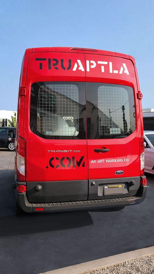 Truaptla car branding