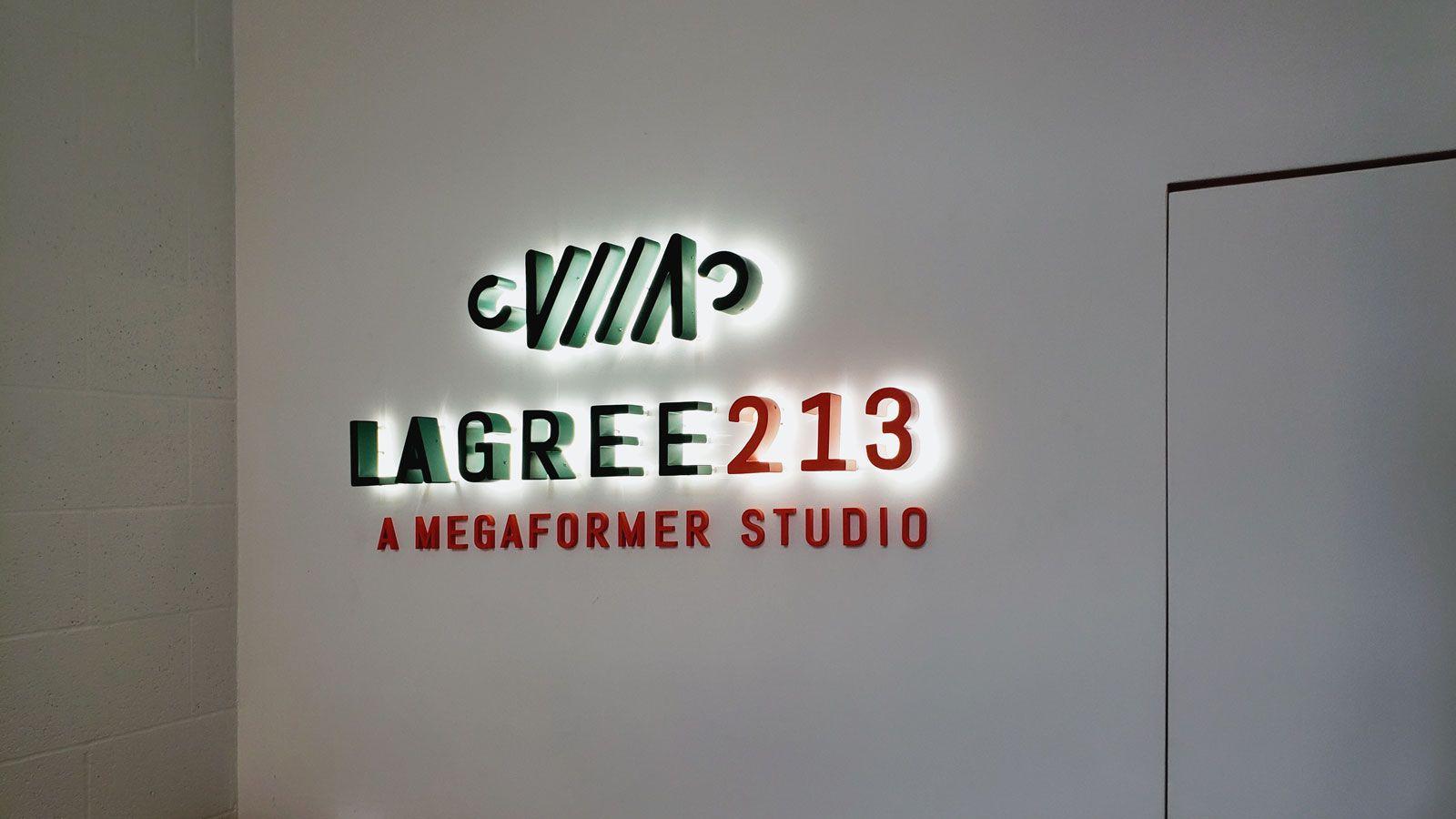 lagree213 backlit letters