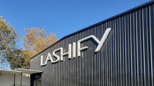 Lashify channel letters