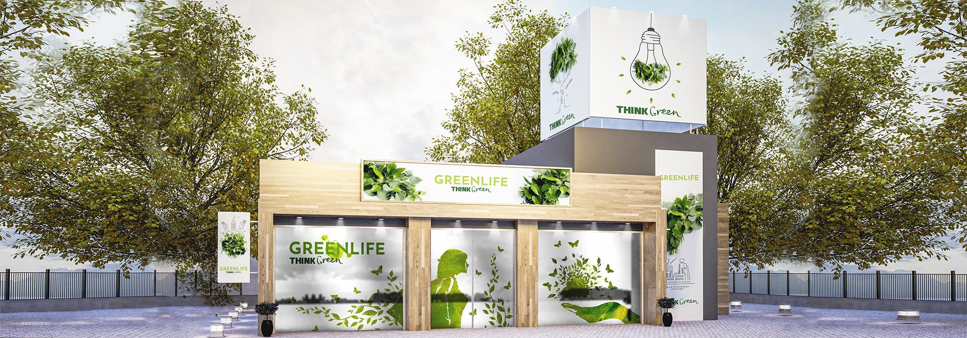 outdoor eco-friendly advertising idea