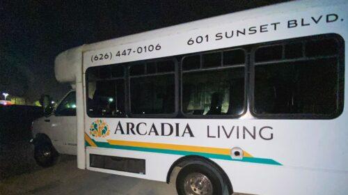 Arcadia Living bus decals