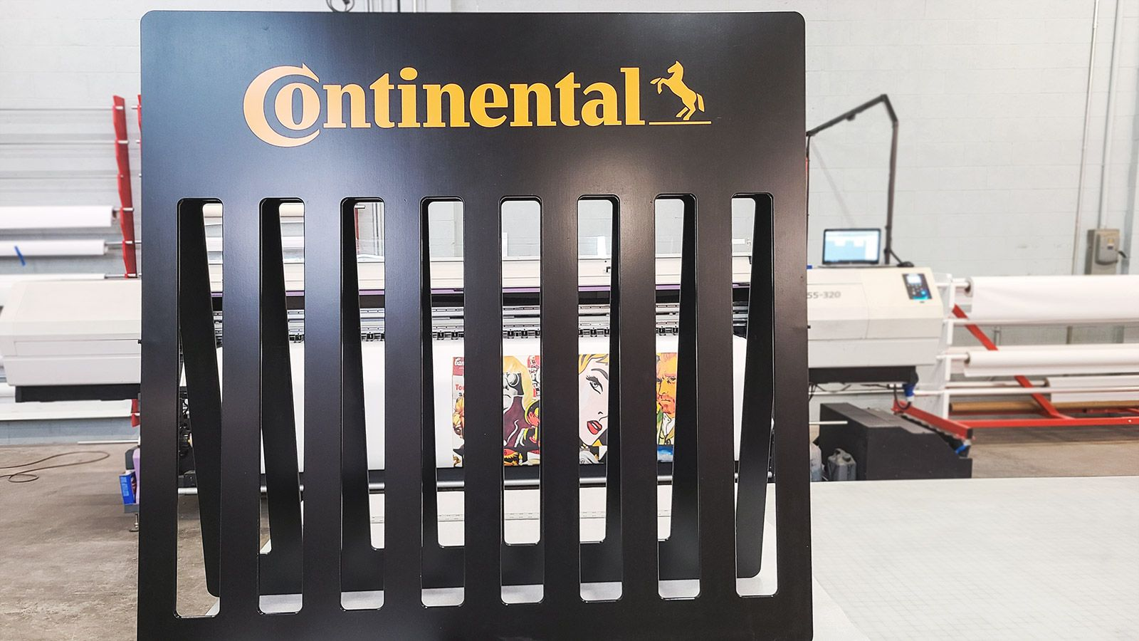 Continental custom wooden display