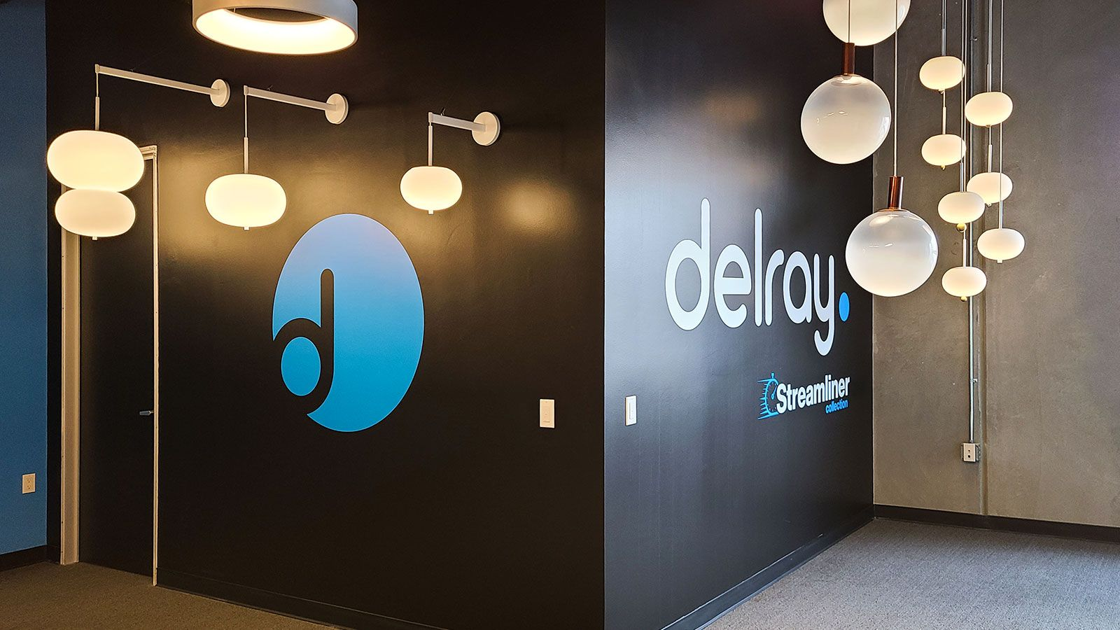 Delray office wall decals
