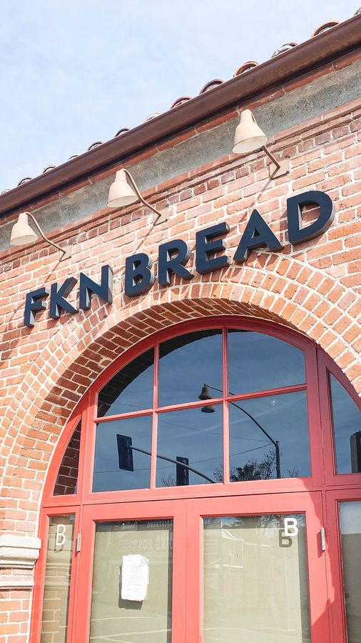 FKN Bread store sign