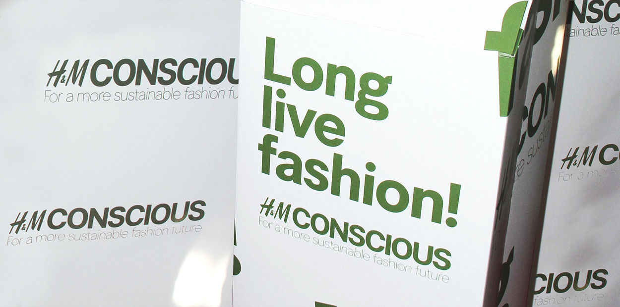 H&M Conscious collection successful sustainability campaign