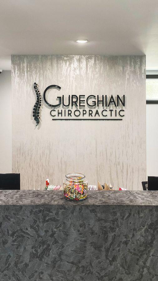 Hureghian chiropractic 3d letters