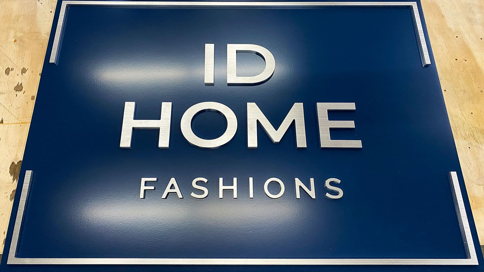 ID home 3d letters