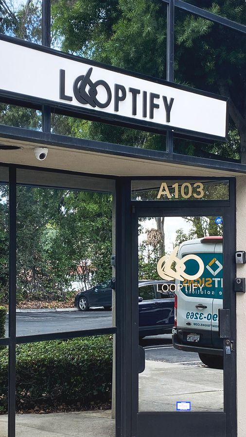 Looptify 3D PVC letters