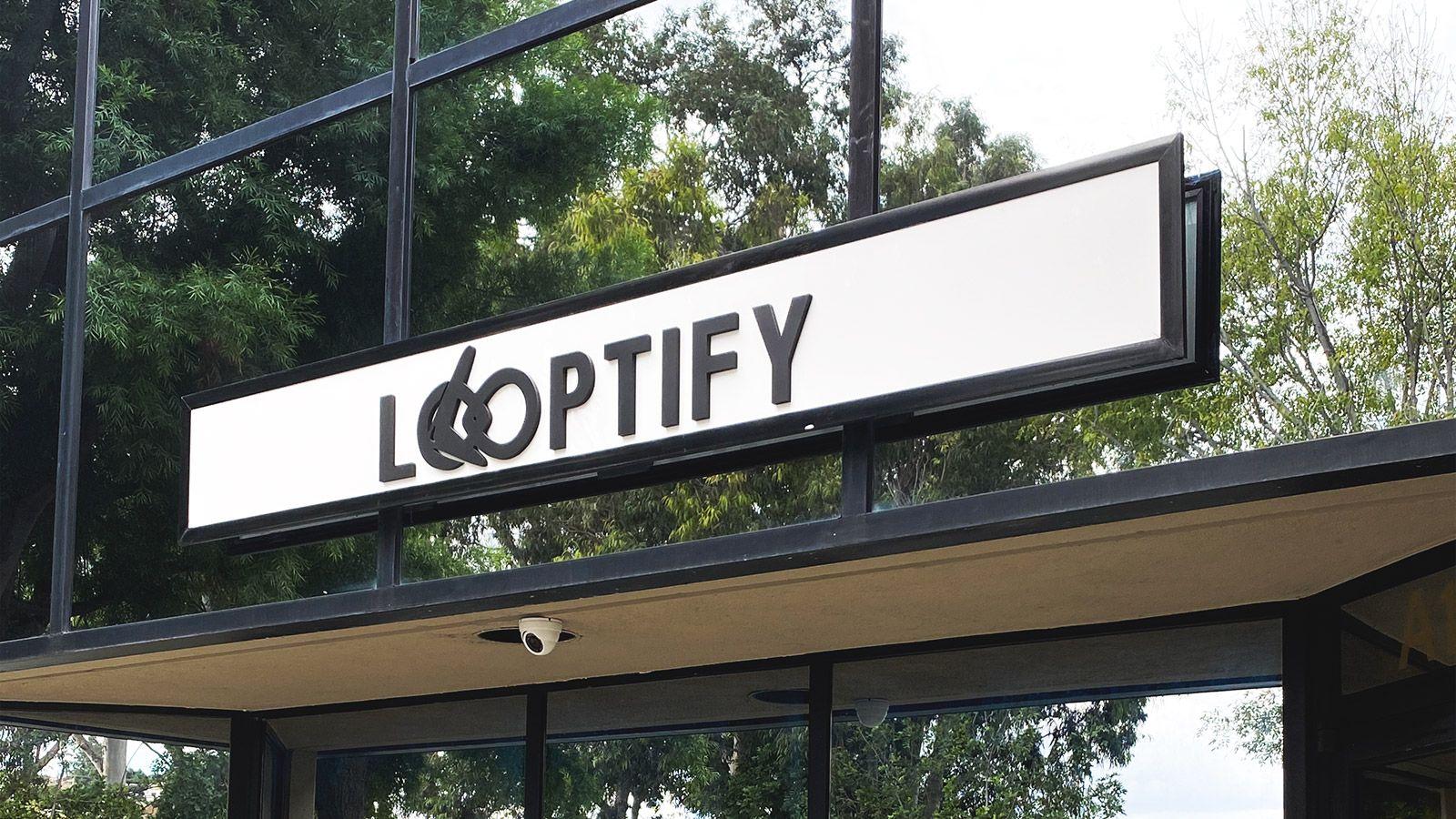 Looptify PVC 3D letters