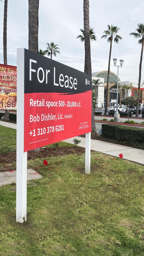for lease realtor sign