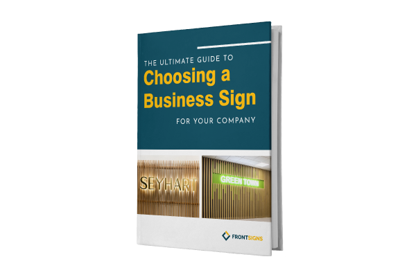 Guide to Choosing a Business Sign E-Book
