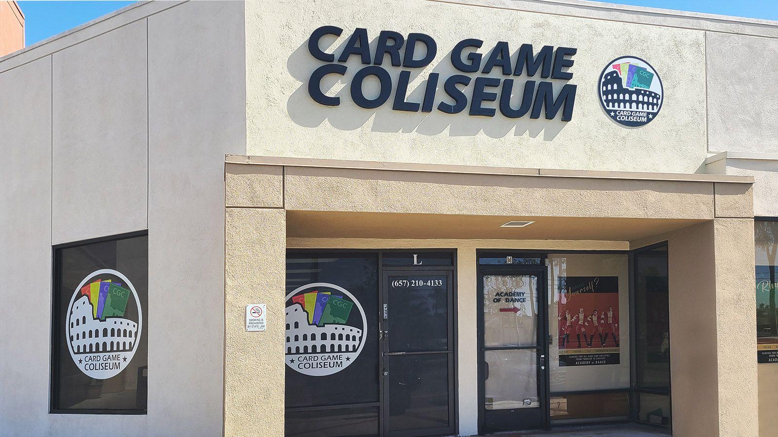 Card Game Coliseum decals