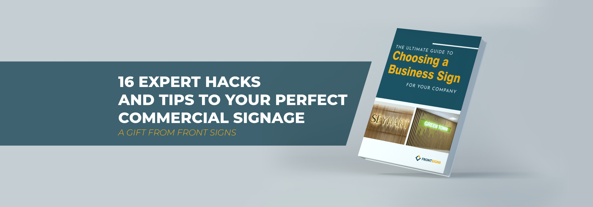Guide to Choosing a Business Sign