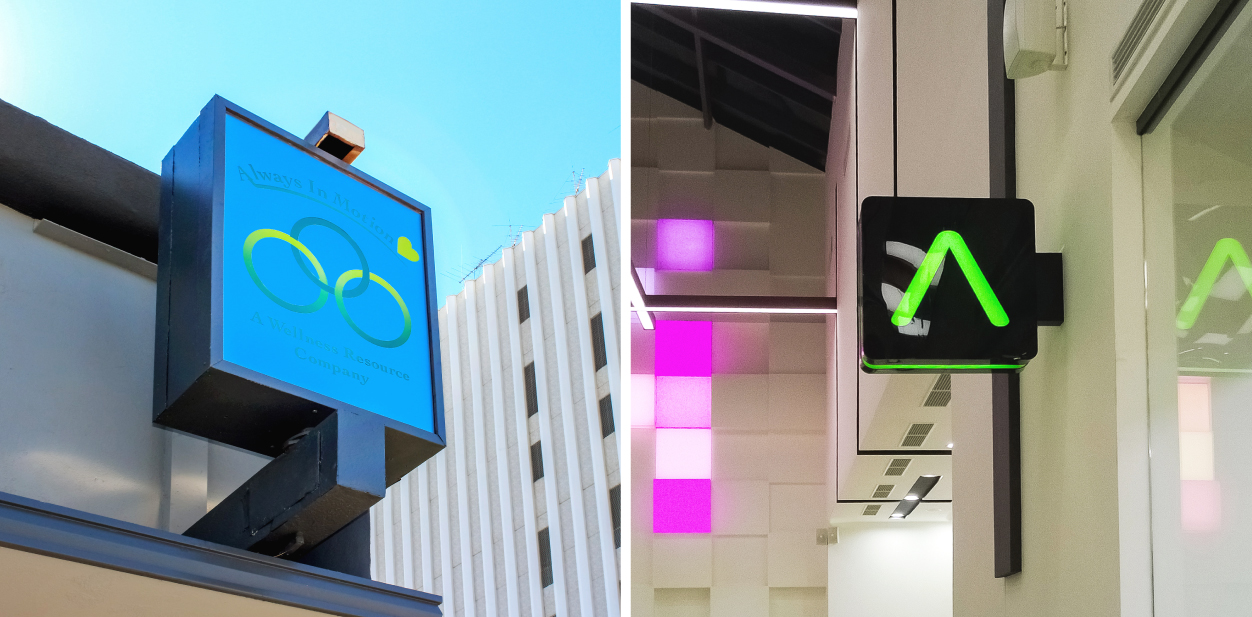 Displaying size as a factor affecting light box sign price with different light box size examples