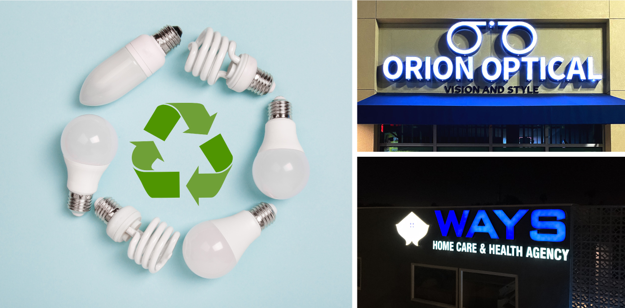 Energy-efficient signage solutions for making your company green