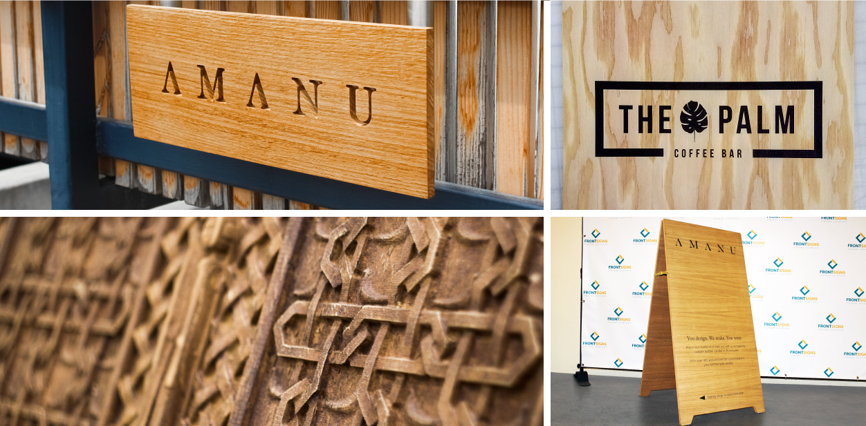 Wooden advertising solutions for becoming an eco friendly business