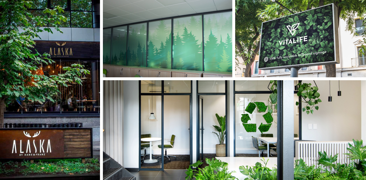 Green themed business design solutions to make your company environmentally friendly
