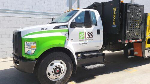 lss truck door decal