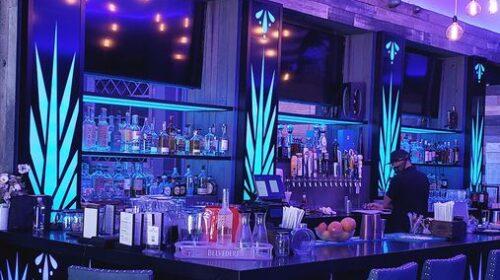 Agave Azul LED bar signs