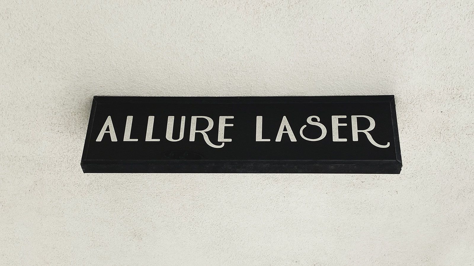 Allure Laser light box sign