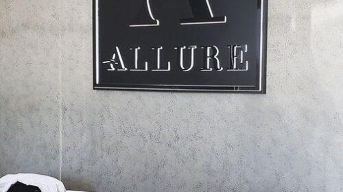 Allure custom office sign