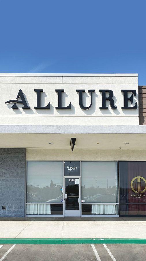 Allure laser 3D letters