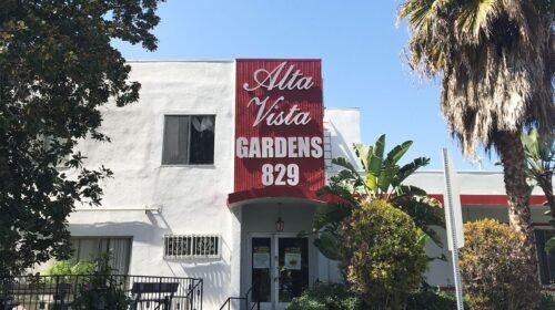 Alta Vista Gardens 3D letters