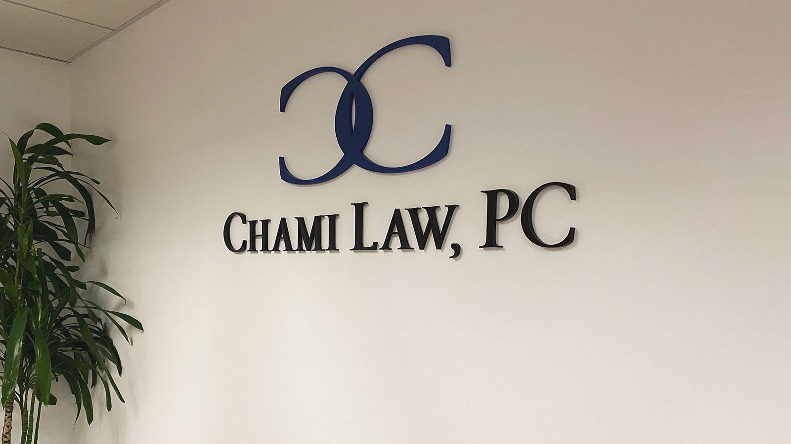 Chami Law 3D letters