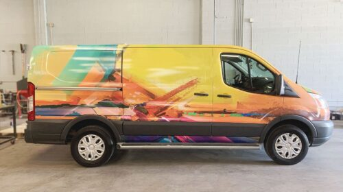 Complete vehicle wrap