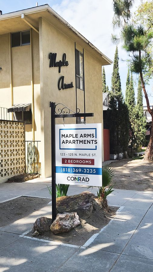Conrad real estate sign