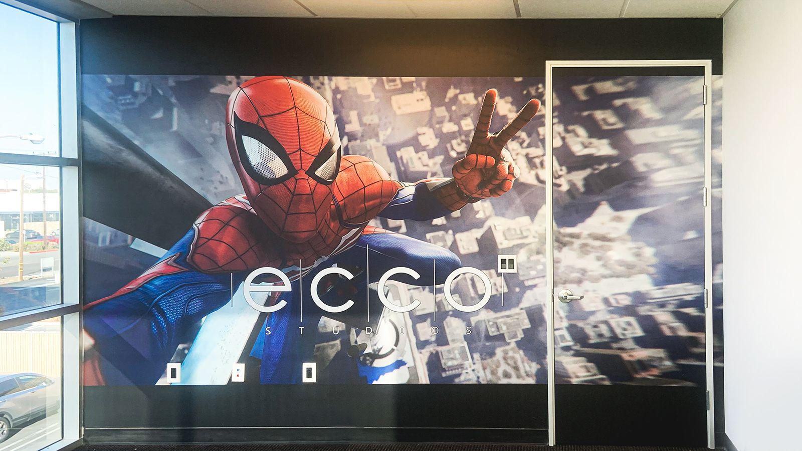 Ecco Studios wall decal