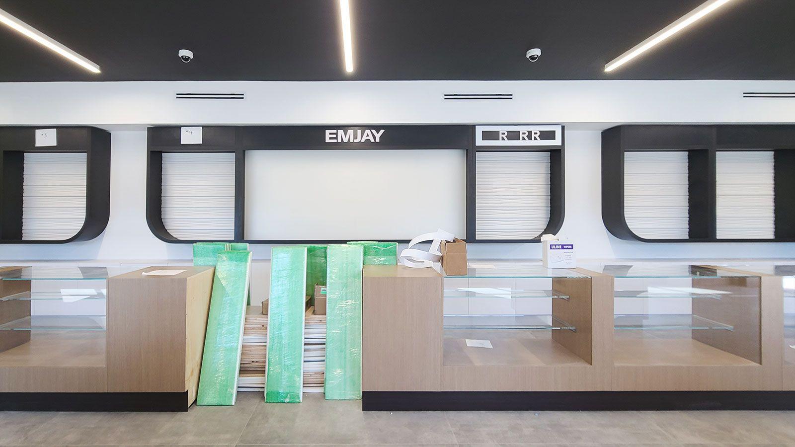 Emjay custom PVC 3D letters