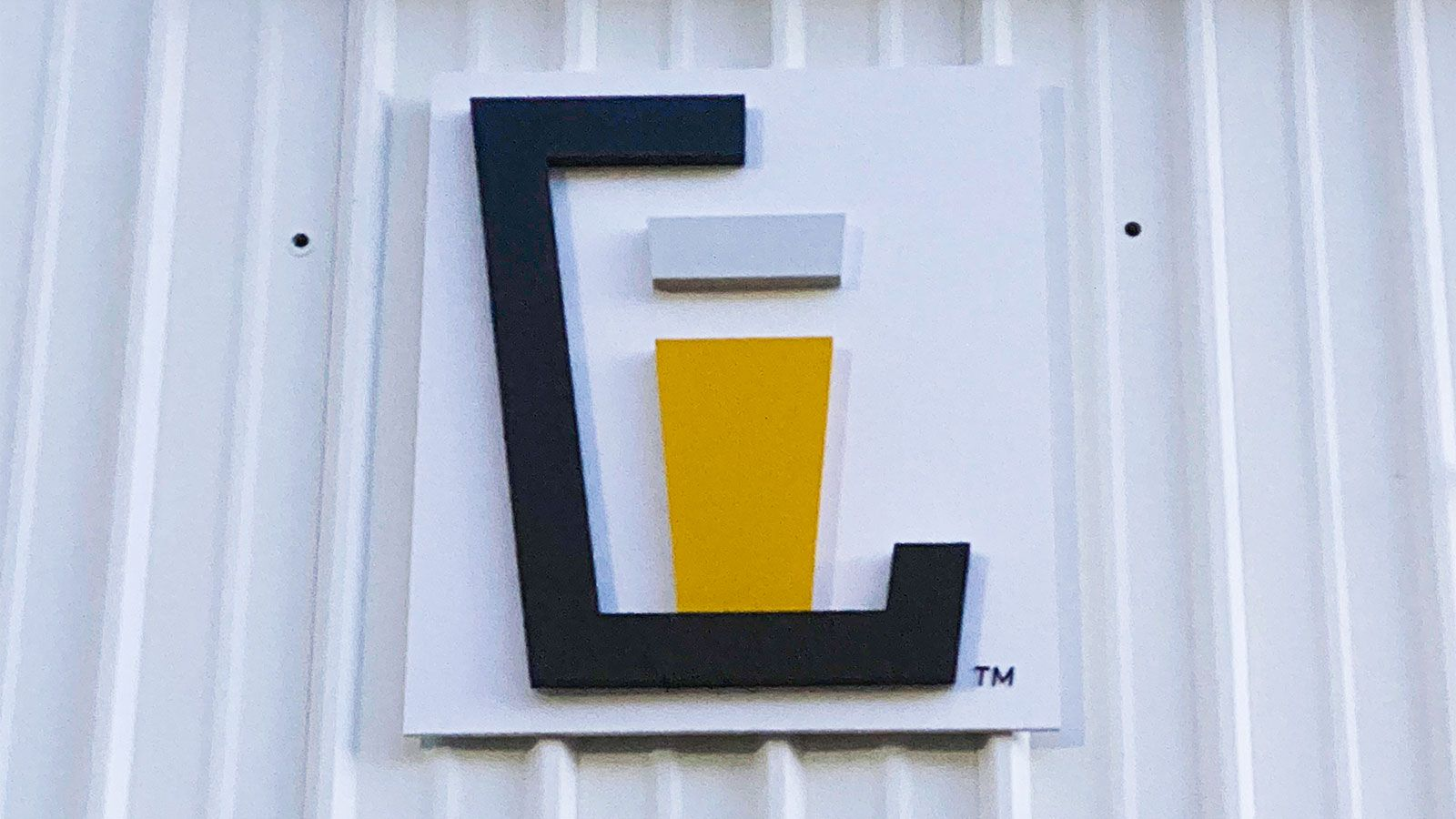 Lawless brewing PVC sign
