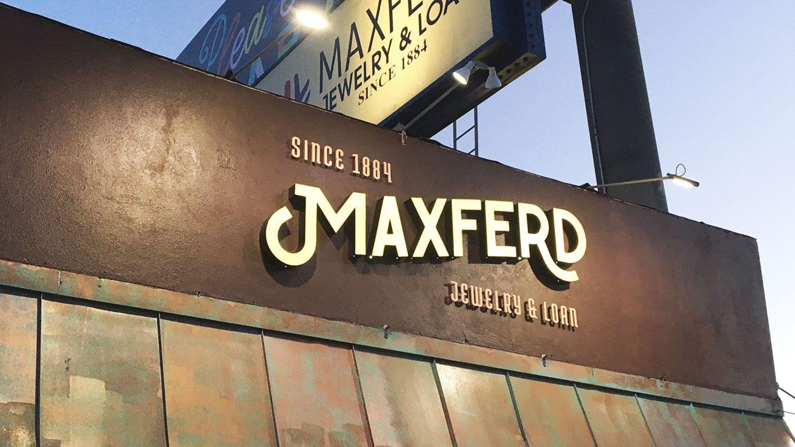 Maxferd channel letters