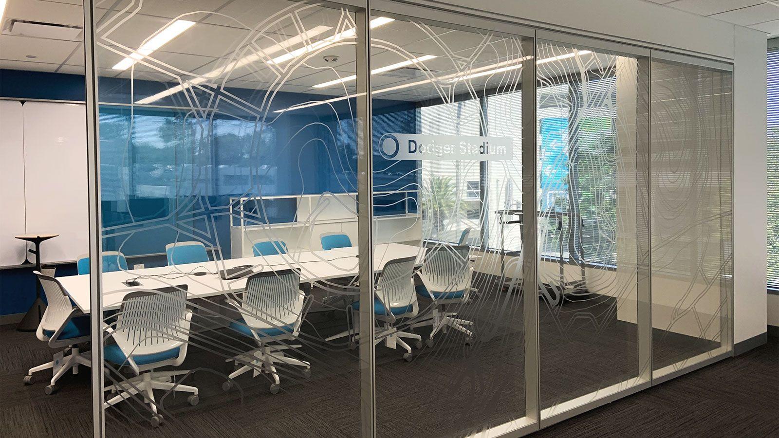 Neutrogena Office decals