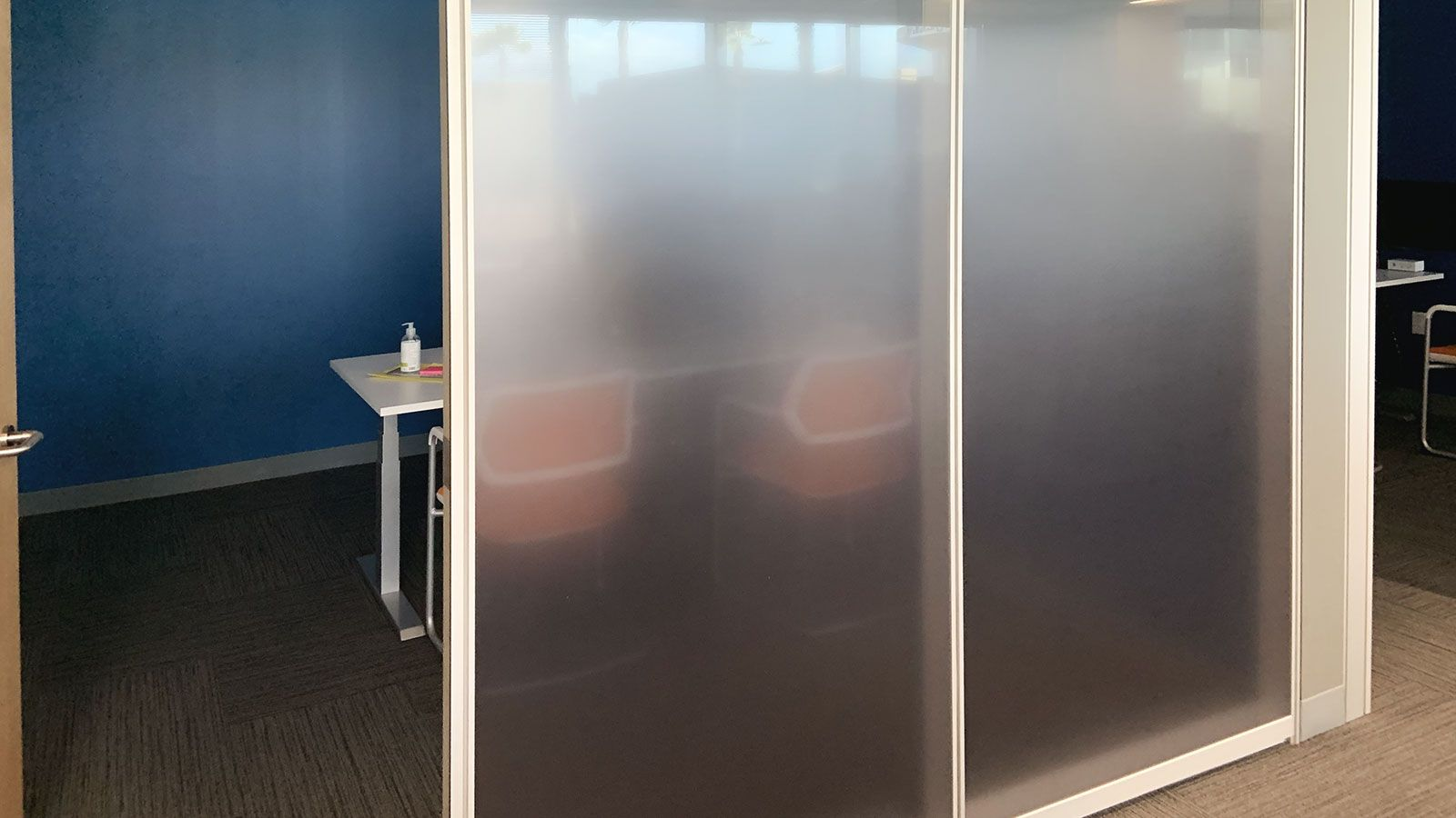 Neutrogena office frosted decals