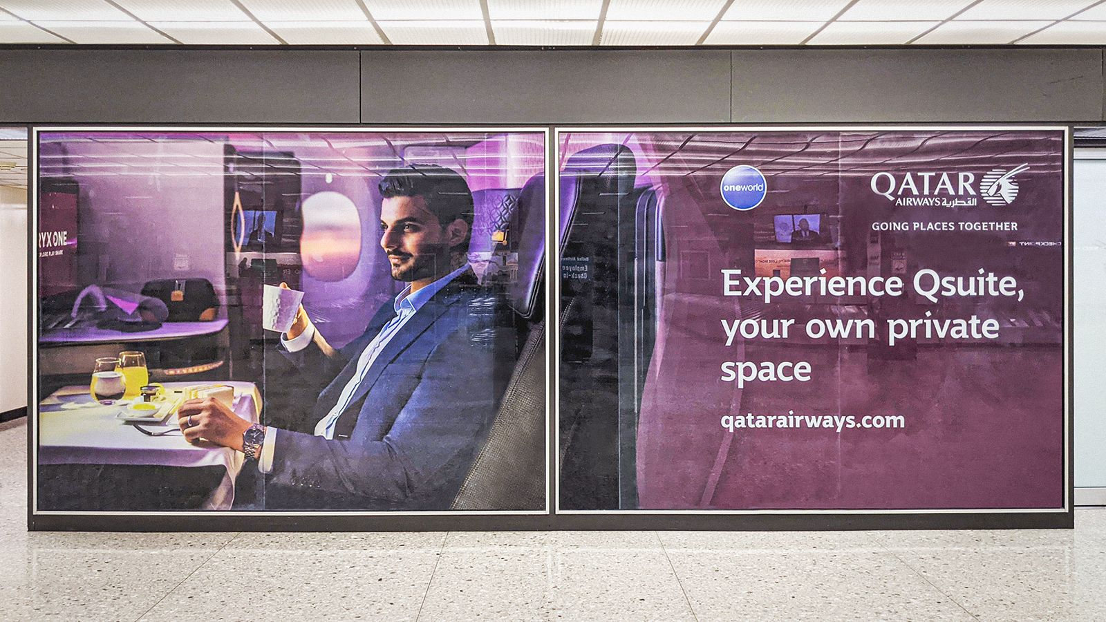 Qatar Airways wall decal