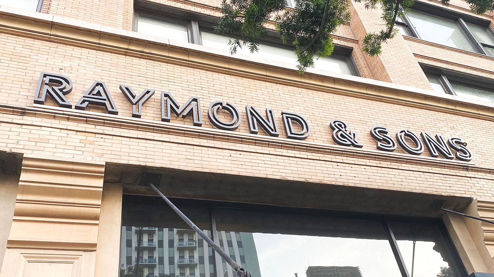 Raymond and Sons 3D letters