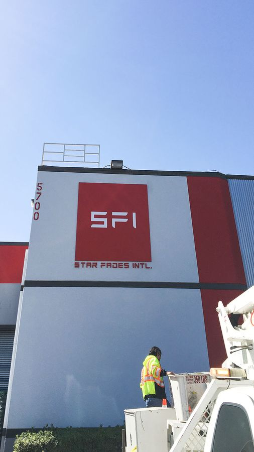 Star Fades building sign