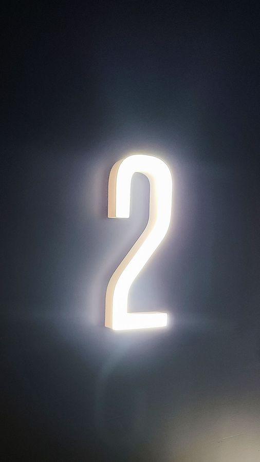 Ticketmaster Personalized LED number