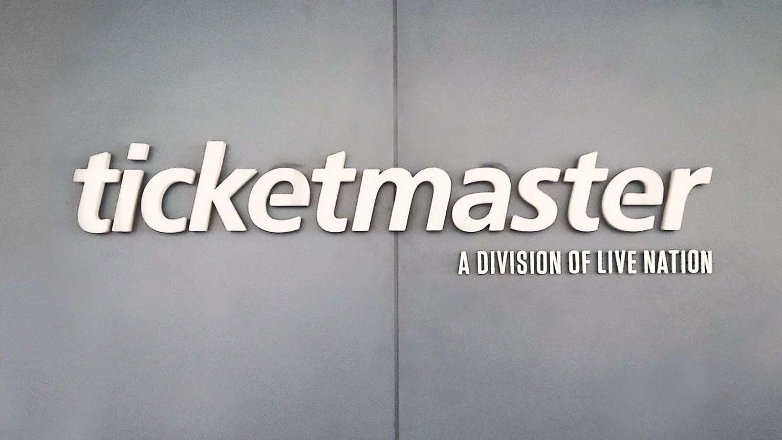 Ticketmaster channel letters