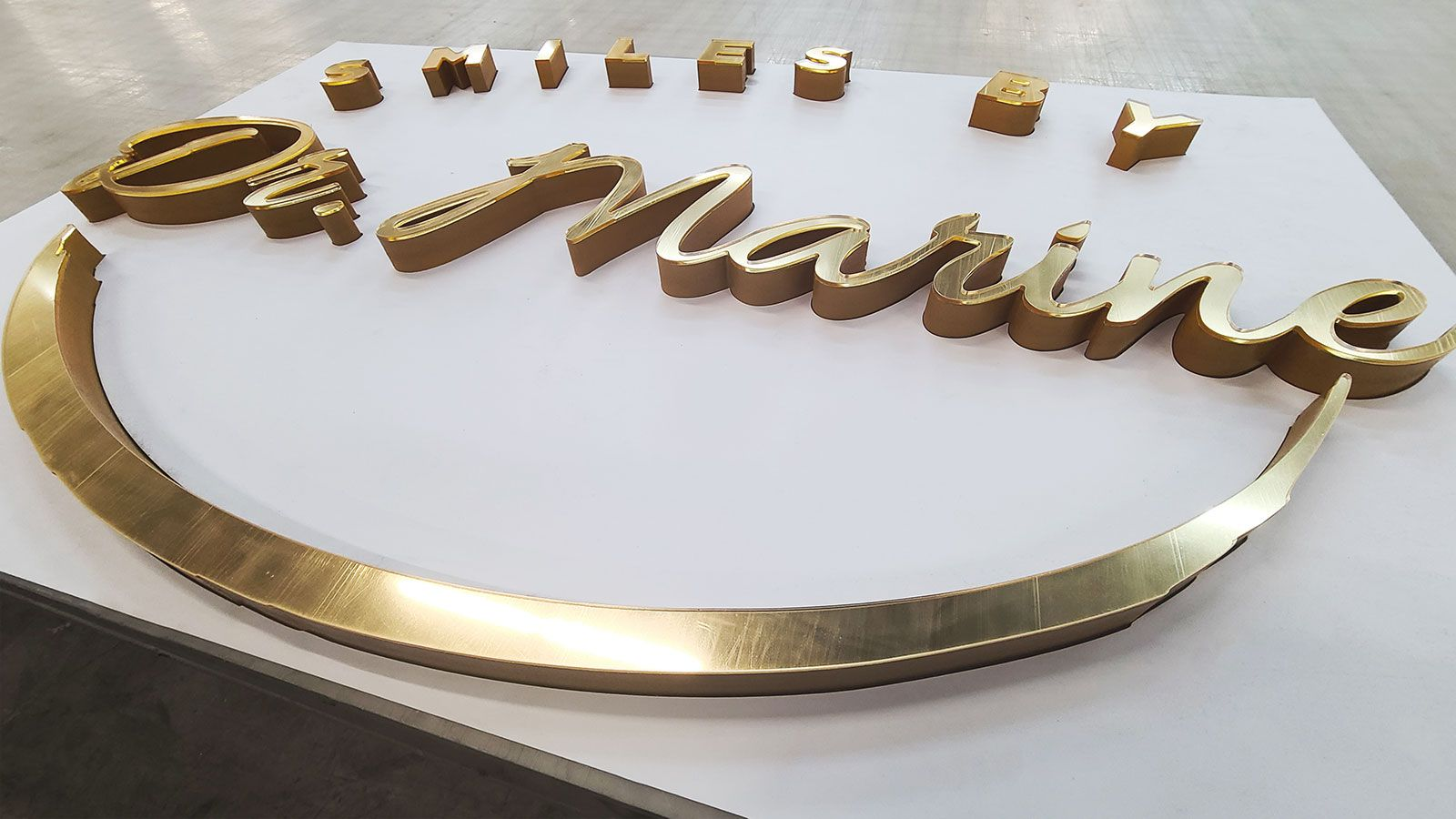 acrylic and pvc 3d letters
