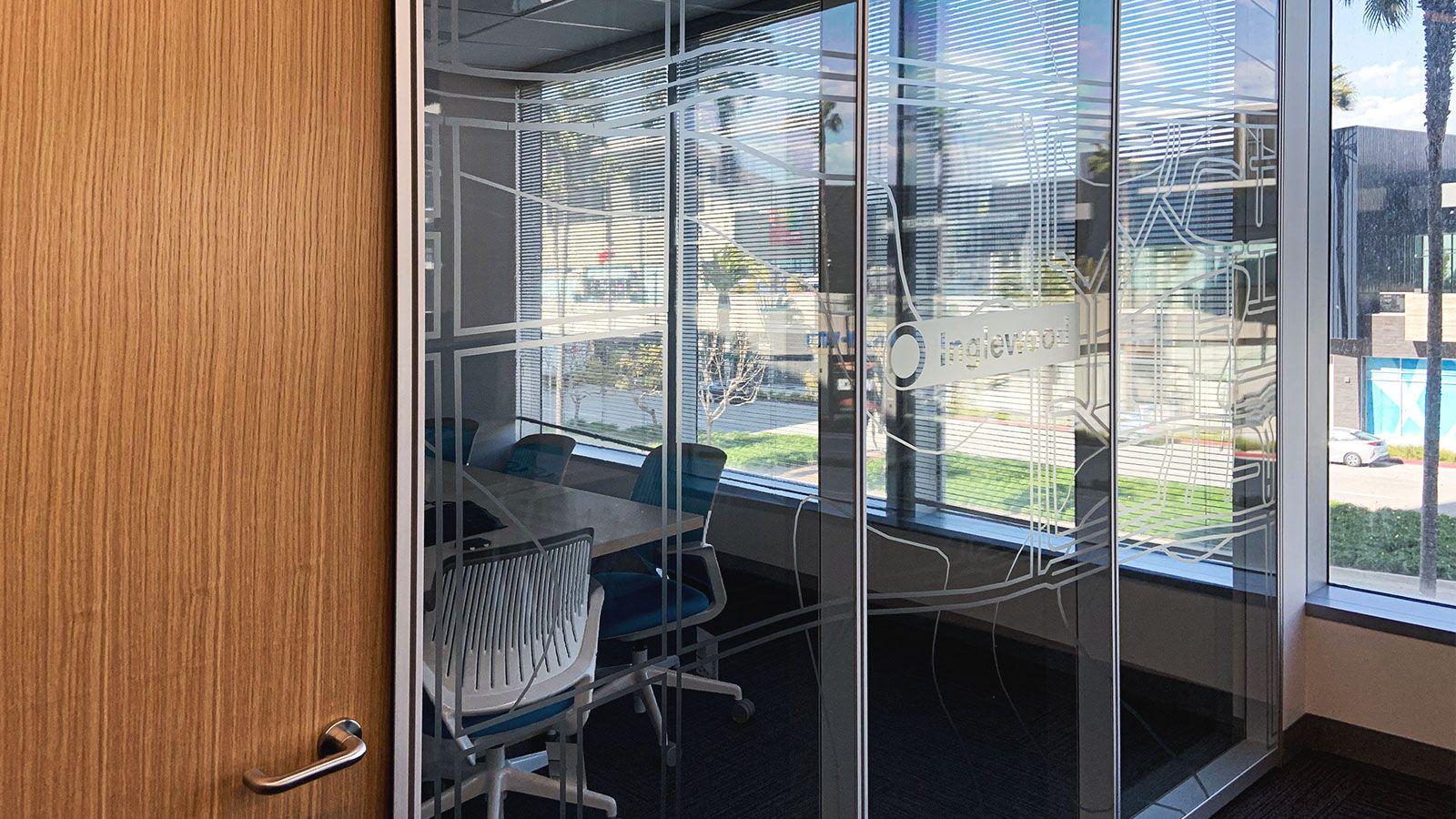 meeting room window decals