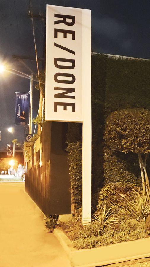 redone light up sign