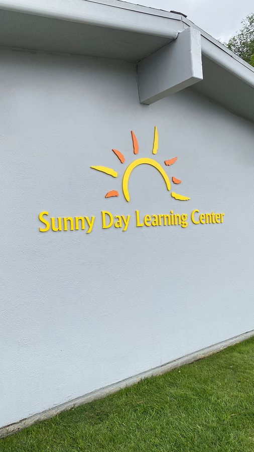 sunny day acrylic 3d Letters