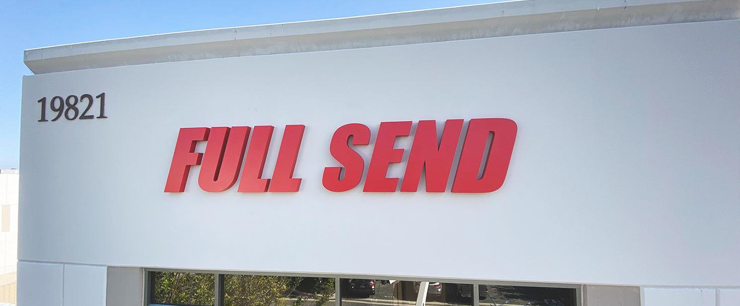 full-send high rise sign